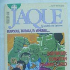 Coleccionismo deportivo: JAQUE , REVISTA ESPAÑOLA DE AJEDREZ. Nº 433, SEPTIEMBRE 1996. Lote 161426602