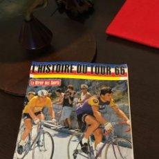 Coleccionismo deportivo: FABULOSA REVISTA ANTIGUA TOUR DE FRANCIA 1966 68 PÁGINAS. Lote 161522966