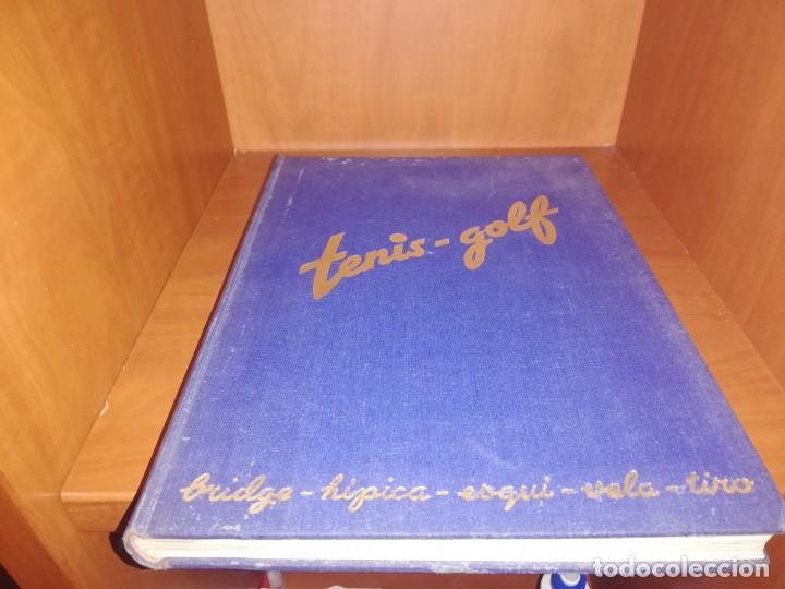 REVISTA TENIS - GOLF - BRIDGE - HIPICA - ESQUI - VELA - TIRO, 1947 DEL Nº 10 AL 22 AÑO COMPLETO (Coleccionismo Deportivo - Revistas y Periódicos - otros Deportes)