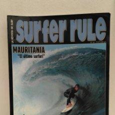Coleccionismo deportivo: REVISTA DE SURF SURFER RULE NÚMERO 61. Lote 162364410
