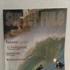 Coleccionismo deportivo: REVISTA DE SURF SURFER RULE NÚMERO 72. Lote 162364840