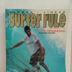 Coleccionismo deportivo: REVISTA DE SURF SURFER RULE NÚMERO 68. Lote 162367926