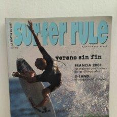 Coleccionismo deportivo: REVISTA DE SURF SURFER RULE NÚMERO 70. Lote 162367968