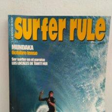 Coleccionismo deportivo: REVISTA DE SURF SURFER RULE NÚMERO 71. Lote 162368114