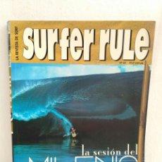 Coleccionismo deportivo: REVISTA DE SURF SURFER RULE NÚMERO 64. Lote 162368254