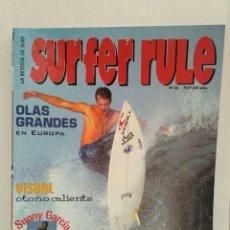 Coleccionismo deportivo: REVISTA DE SURF SURFER RULE NÚMERO 65. Lote 162371473