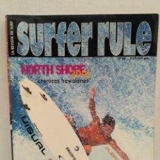 Coleccionismo deportivo: REVISTA DE SURF SURFER RULE NÚMERO 66. Lote 162372720