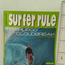 Coleccionismo deportivo: REVISTA DE SURF SURFER RULE NÚMERO 63. Lote 162372802