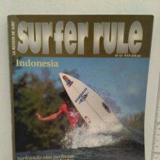 Coleccionismo deportivo: REVISTA DE SURF SURFER RULE NÚMERO 57. Lote 162373316