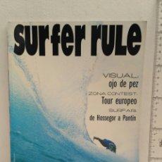 Coleccionismo deportivo: REVISTA DE SURF SURFER RULE NÚMERO 76. Lote 162380402