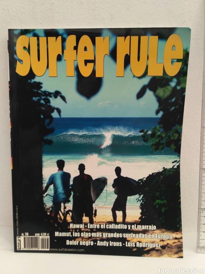 REVISTA DE SURF SURFER RULE NÚMERO 78 (Coleccionismo Deportivo - Revistas y Periódicos - otros Deportes)