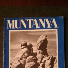 Coleccionismo deportivo: REVISTA MUNTANYA-JUNY 1972-ALPINISMO-FLOÏD. Lote 162407450