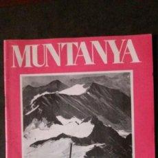Coleccionismo deportivo: REVISTA MUNTANYA-FEBRER 1974-ALPINISMO-FLOÏD. Lote 162407526