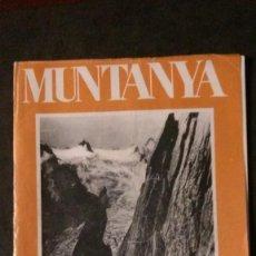 Coleccionismo deportivo: REVISTA MUNTANYA-AGOST 1974-ALPINISMO-FLOÏD. Lote 162407702