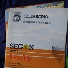 Coleccionismo deportivo: CLUB DE TENIS BARCINO-SEGON TROFEO BYLY. Lote 162984582