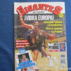 Coleccionismo deportivo: GIGANTES DEL BASKET N.º 314 - 11 NOVIEMBRE 1991. Lote 163009534