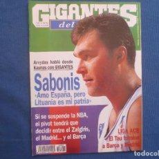 Coleccionismo deportivo: GIGANTES DEL BASKET N.º 687 ENERO 1999. Lote 163025834