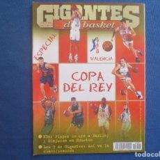 Coleccionismo deportivo: GIGANTES DEL BASKET N.º 691 ENERO 1999. Lote 163026418