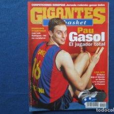 Collectionnisme sportif: GIGANTES DEL BASKET N.º 790 - DICIEMBRE 2000. Lote 163044490
