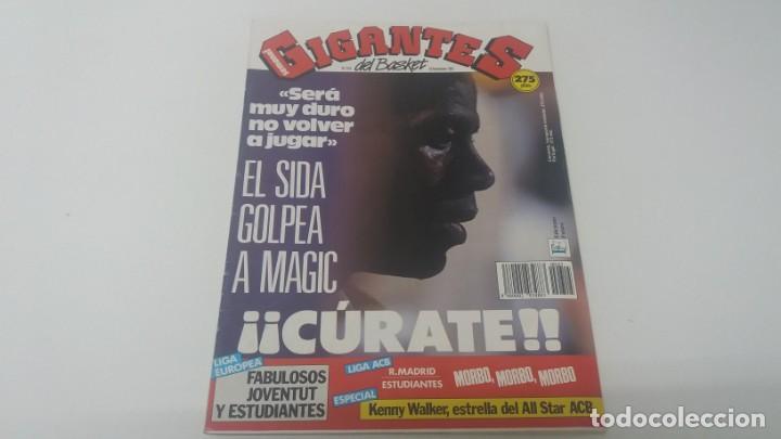 REVISTA DE BALONCESTO GIGANTES DEL BASKET AÑO 1991 N° 315 (Coleccionismo Deportivo - Revistas y Periódicos - otros Deportes)