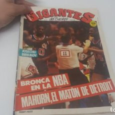 Coleccionismo deportivo: REVISTA DE BALONCESTO GIGANTES DEL BASKET AÑO 1988 N° 117 CON PÓSTER . Lote 163266198