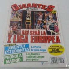 Coleccionismo deportivo: REVISTA DE BALONCESTO GIGANTES DEL BASKET AÑO 1991 N° 276 CON PÓSTER. Lote 163313218