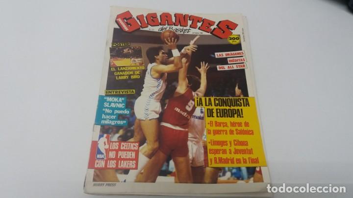 REVISTA DE BALONCESTO GIGANTES DEL BASKET AÑO 1988 N° 121 (Coleccionismo Deportivo - Revistas y Periódicos - otros Deportes)