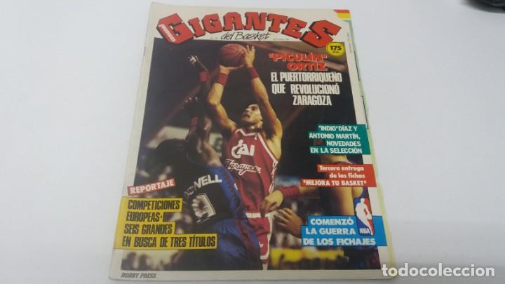 REVISTA DE BALONCESTO GIGANTES DEL BASKET AÑO 1987 N° 103 (Coleccionismo Deportivo - Revistas y Periódicos - otros Deportes)
