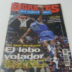 Coleccionismo deportivo: REVISTA DE BALONCESTO GIGANTES DEL BASKET AÑO 1994 N° 433. Lote 163335774