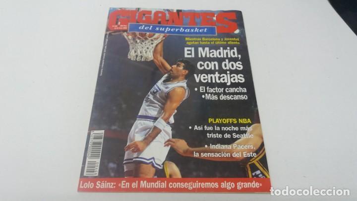 REVISTA DE BALONCESTO GIGANTES DEL BASKET AÑO 1994 N° 446 (Coleccionismo Deportivo - Revistas y Periódicos - otros Deportes)