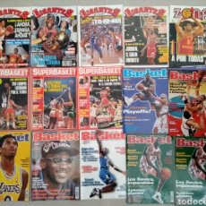 Coleccionismo deportivo: LOTE DE 15 REVISTAS DE BASKET / BALONCESTO SIN PÓSTERS. Lote 141688594