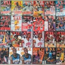 Coleccionismo deportivo: LOTE 25 REVISTAS XXL BASKET SIN PÓSTERS.BALONCESTO. Lote 137329157