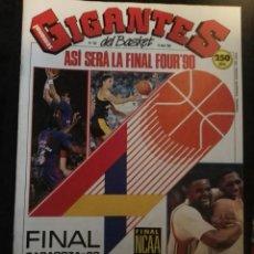 Coleccionismo deportivo: REVISTA GIGANTES DEL BASKET Nº 232 16 ABRIL 1990 CON POSTER. Lote 163790418