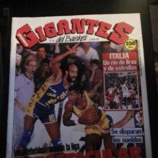 Coleccionismo deportivo: REVISTA GIGANTES DEL BASKET Nº 204 2 OCTUBRE 1989 CON POSTER. Lote 163791738