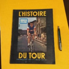Coleccionismo deportivo: ANTIGUA REVISTA HISTORIA DEL TOUR DE FRANCIA 1961 MIROIR DU CYCLISME. Lote 163817050