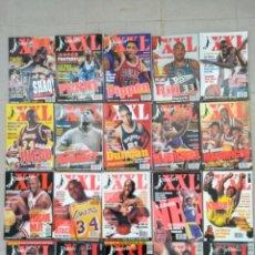 Coleccionismo deportivo: LOTE 31 REVISTAS COMPLETAS XXL BASKET. Lote 139127598