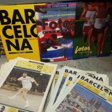 Collezionismo sportivo: GRAN LOTE JUEGOS OLÍMPICOS BARCELONA 92- IMAGENES, FOTOS, 42+10 SUPLEMENTOS(LA VANGUARDIA),COMPLETO!. Lote 164622146
