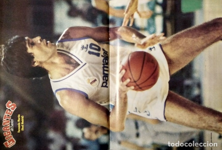 Coleccionismo deportivo: Fernando Martín - Coleccionable de Gigantes (2000) + Muerte (1989) + otras - Foto 31 - 130140043