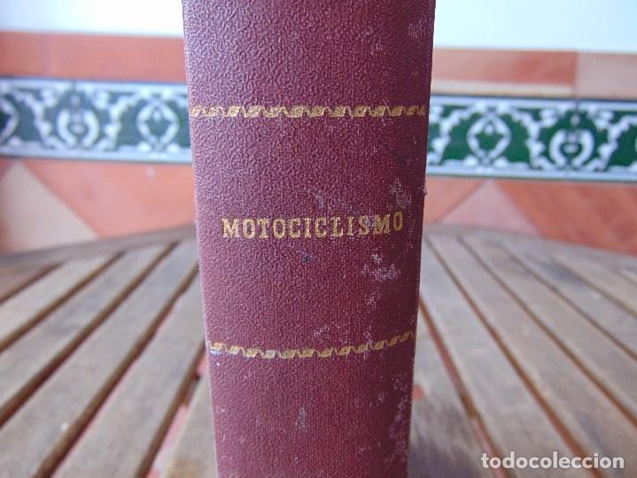 Coleccionismo deportivo: TOMO DE LA REVISTA MOTOCILISMO REVISTA ESPAÑOLA DE LA MOTOCICLETA AÑO 1953 Nº 34 AL 57 LEER - Foto 3 - 164739634