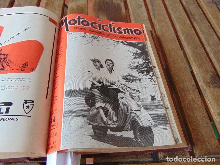 Coleccionismo deportivo: TOMO DE LA REVISTA MOTOCILISMO REVISTA ESPAÑOLA DE LA MOTOCICLETA AÑO 1953 Nº 34 AL 57 LEER - Foto 20 - 164739634