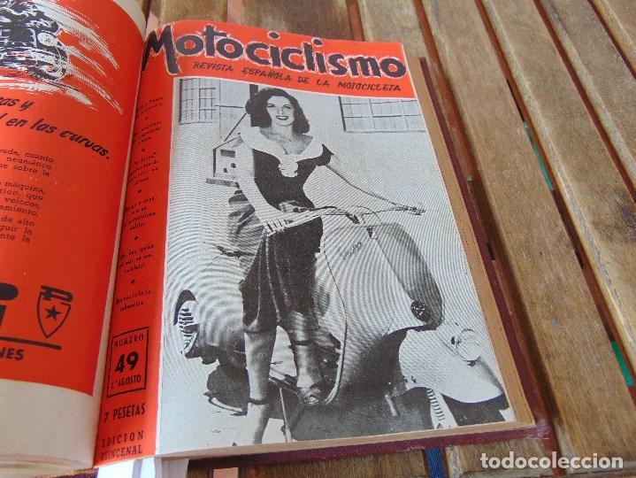 Coleccionismo deportivo: TOMO DE LA REVISTA MOTOCILISMO REVISTA ESPAÑOLA DE LA MOTOCICLETA AÑO 1953 Nº 34 AL 57 LEER - Foto 25 - 164739634