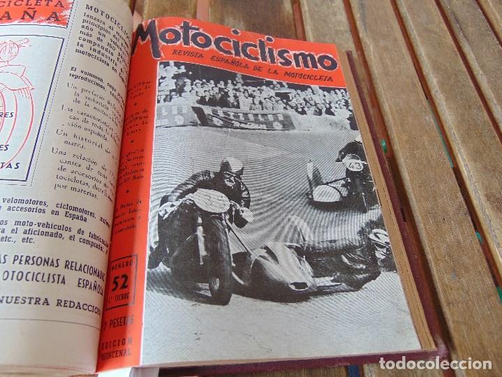 Coleccionismo deportivo: TOMO DE LA REVISTA MOTOCILISMO REVISTA ESPAÑOLA DE LA MOTOCICLETA AÑO 1953 Nº 34 AL 57 LEER - Foto 28 - 164739634