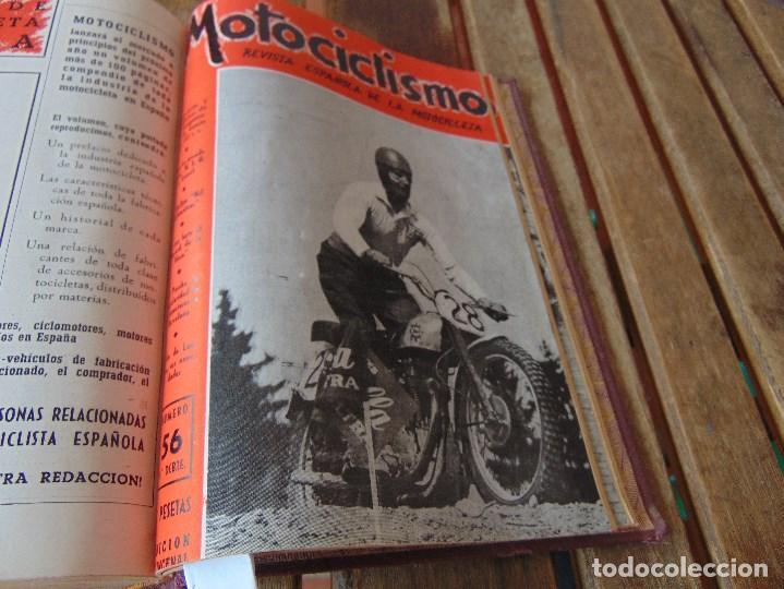 Coleccionismo deportivo: TOMO DE LA REVISTA MOTOCILISMO REVISTA ESPAÑOLA DE LA MOTOCICLETA AÑO 1953 Nº 34 AL 57 LEER - Foto 32 - 164739634