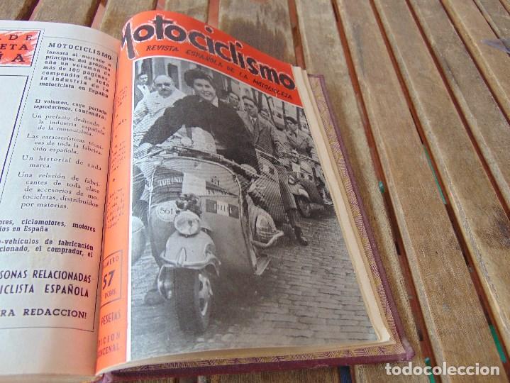 Coleccionismo deportivo: TOMO DE LA REVISTA MOTOCILISMO REVISTA ESPAÑOLA DE LA MOTOCICLETA AÑO 1953 Nº 34 AL 57 LEER - Foto 33 - 164739634