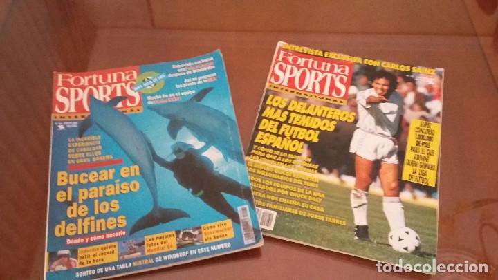 COLECCION REVISTAS FORTUNA SPORTS- REVISTAS AÑOS 92-93-94 ( 33) - DEPORTE ENE GENERAL (Coleccionismo Deportivo - Revistas y Periódicos - otros Deportes)