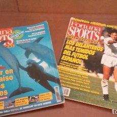 Coleccionismo deportivo: COLECCION REVISTAS FORTUNA SPORTS- REVISTAS AÑOS 92-93-94 ( 33) - DEPORTE ENE GENERAL. Lote 164798562