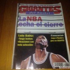Coleccionismo deportivo: REVISTA DE BALONCESTO GIGANTES DEL BASKET AÑO 1998 N° 662 PÓSTER CARLOS JIMÉNEZ SELECCIÓN ESPAÑOLA. Lote 164870698