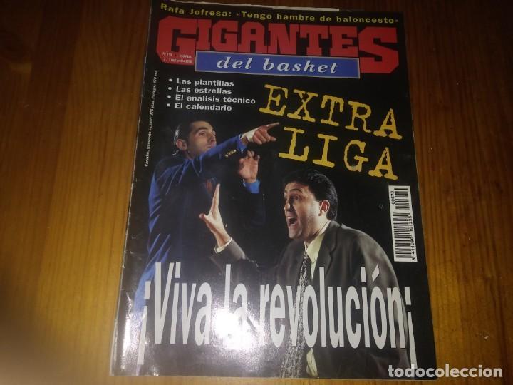REVISTA DE BALONCESTO GIGANTES DEL BASKET AÑO 1998 N° 670 (Coleccionismo Deportivo - Revistas y Periódicos - otros Deportes)