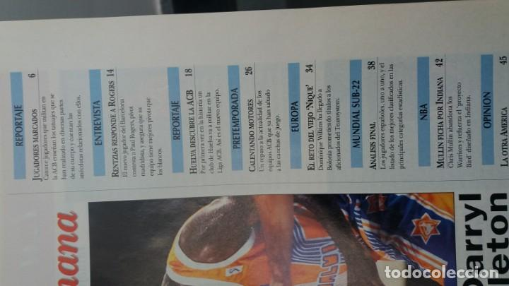 Coleccionismo deportivo: Revista de BALONCESTO GIGANTES DEL BASKET año 1997 N° 616 - Foto 2 - 164955386