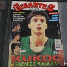 Coleccionismo deportivo: REVISTA DE BALONCESTO GIGANTES DEL BASKET AÑO 1992 N° 364. Lote 164955658